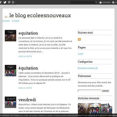 le blog ecoleesnouveaux
