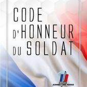 CODE d'Honneur du soldat