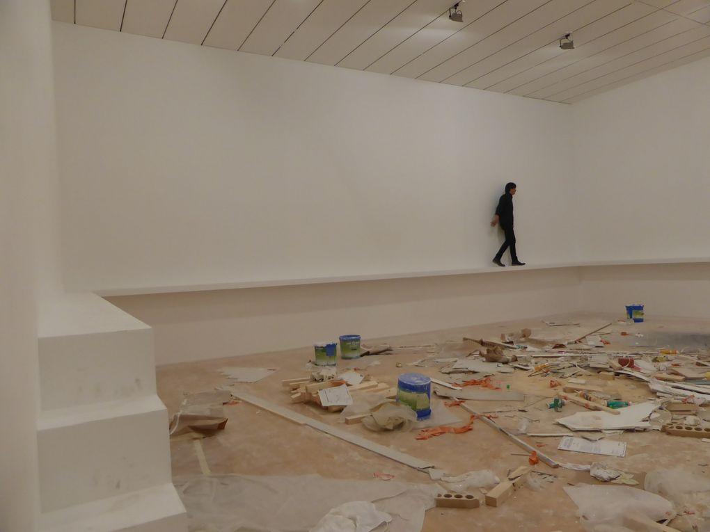 Vues de l'exposition La vie moderne. Biennale de Lyon, musée d'Art contemporain © Le Curieux des arts Gilles Kraemer, présentation presse, septembre 2015