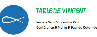 Agenda Table de Vincent 2019/2020