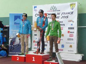 Lucas aux championnats du monde de ski-alpinisme