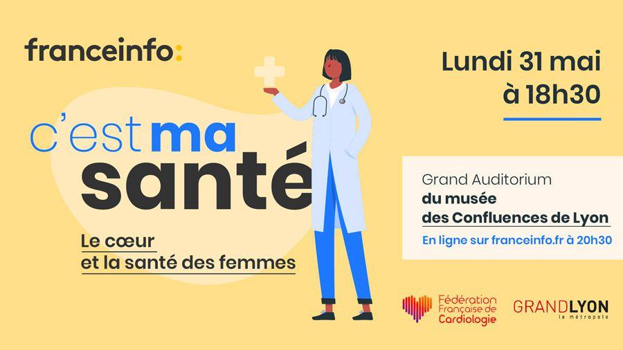 Après « C'est mon boulot », franceinfo lance ce lundi le nouvel événement « C'est ma santé » !