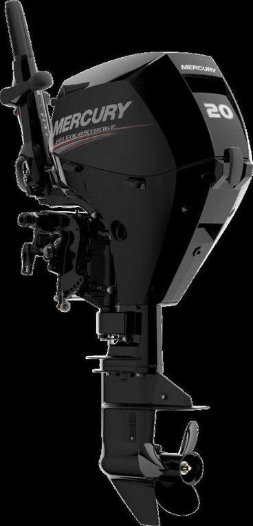 Nautisme - Un nouveau moteur hors-bord 15/20 ch chez Mercury, avec une barre franche pratique et innovante