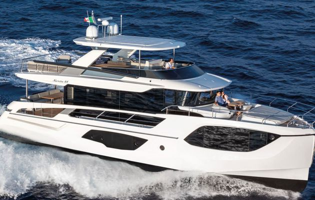 Absolute Navetta 64, le trawler de luxe italien, remporte l'European Power Boat of the Year 2021