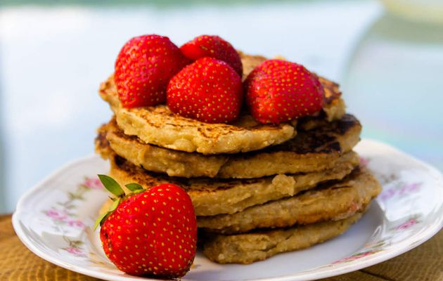 Pancake aux flocons d'avoine - 4 sp Weight Watchers