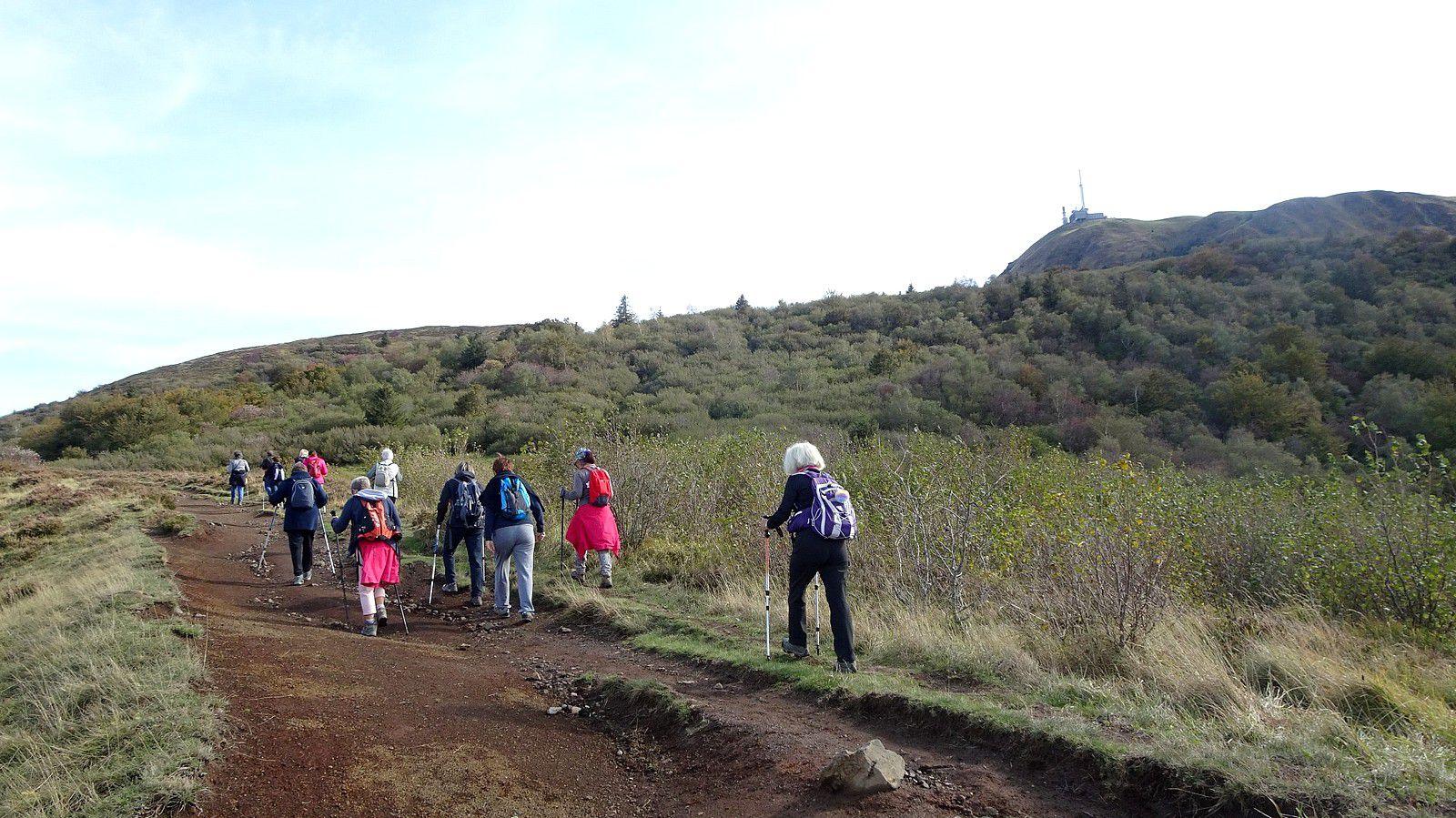 Rando'canard au pied du Puy-de-Dôme. (5).