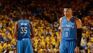 Russell Westbrook et Kevin Durant n'ont pas encore parlé