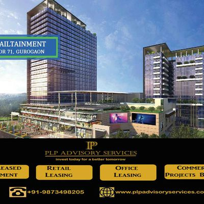 m3m Broadway Sector 71 Gurgaon- retail shops-food court-office spaces