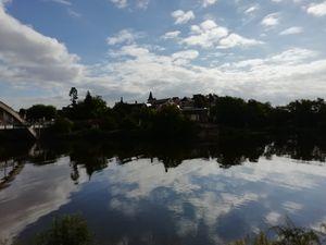 Decize, fin du canal du Nivernais
