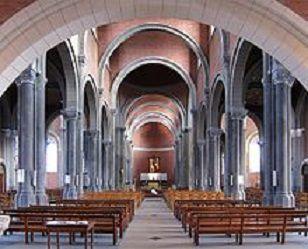 Les voûtes romanes de l'église St Pierre - St Paul de LILLE