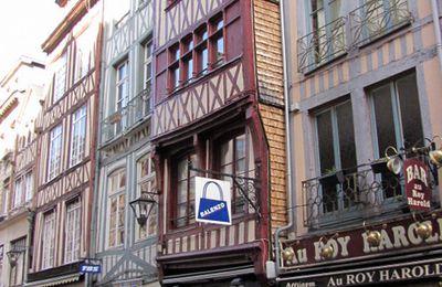 Maison à bardeaux, Rouen