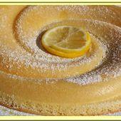 Gâteau léger au citron - Oh, la gourmande..