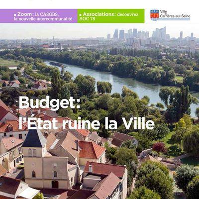 Budget : l'Etat ruine la Ville