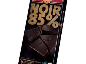 Madeleines au chocolat noir 85 % équitable !!!!!!!!!!!!! .