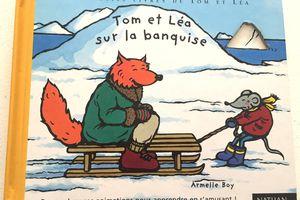 Tom et Léa sur la banquise