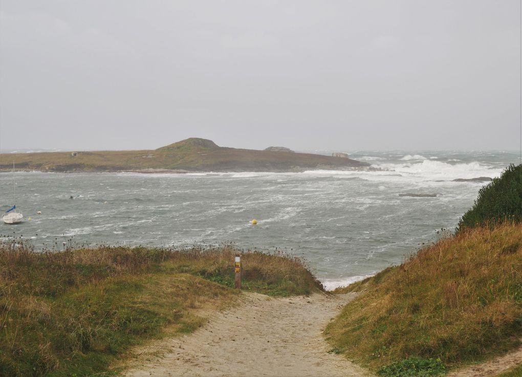 Au loin, la mer frisotte, ça commence à bouger dans les ports, les plaisanciers viennent vérifier leurs amarres, la tempête approche.