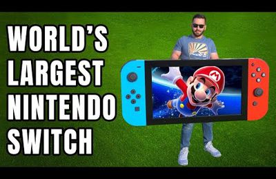 La Nintendo Switch XXL !