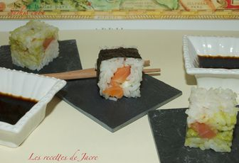 Sushis cube