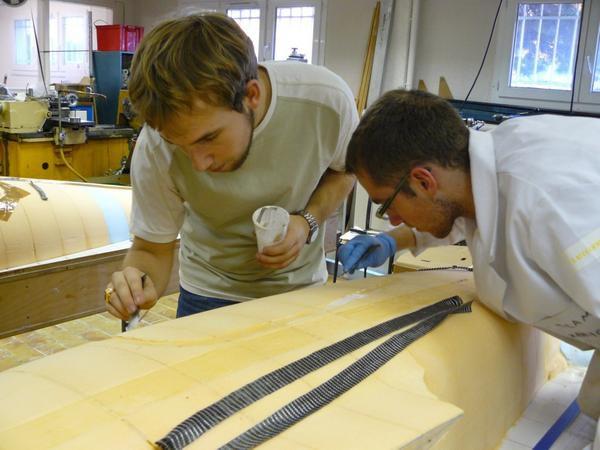 Photos de la fabrication de notre nouveau prototype.- Retour au sommaire -