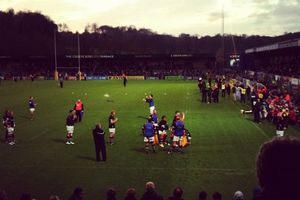 LE STADE CHAMPETRE DES LONDON WASPS...