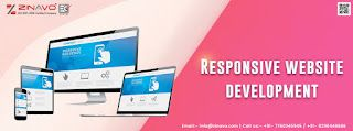 Mention what do you mean by Responsive design on a web page?