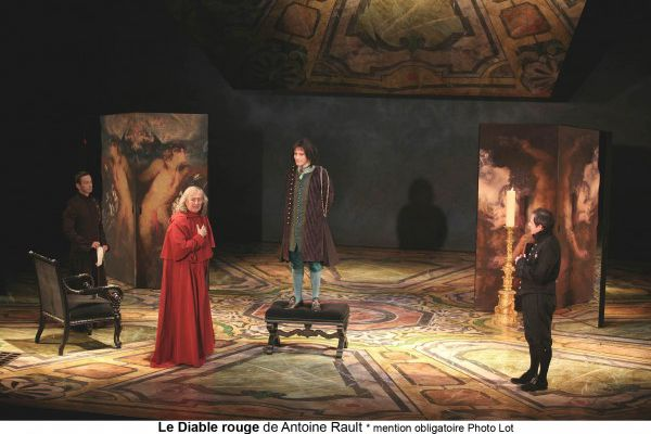 LE DIABLE ROUGE / MAZARIN / CLAUDE RICH / THEATRE
