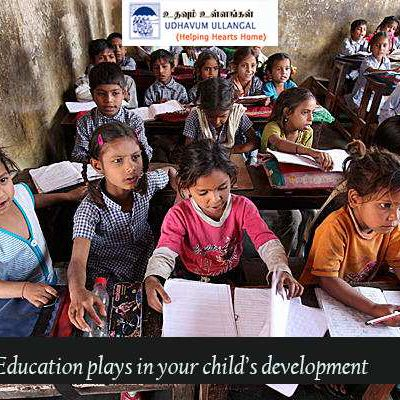 Education plays roles in your child's development