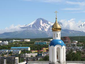 Eglise et Volcans