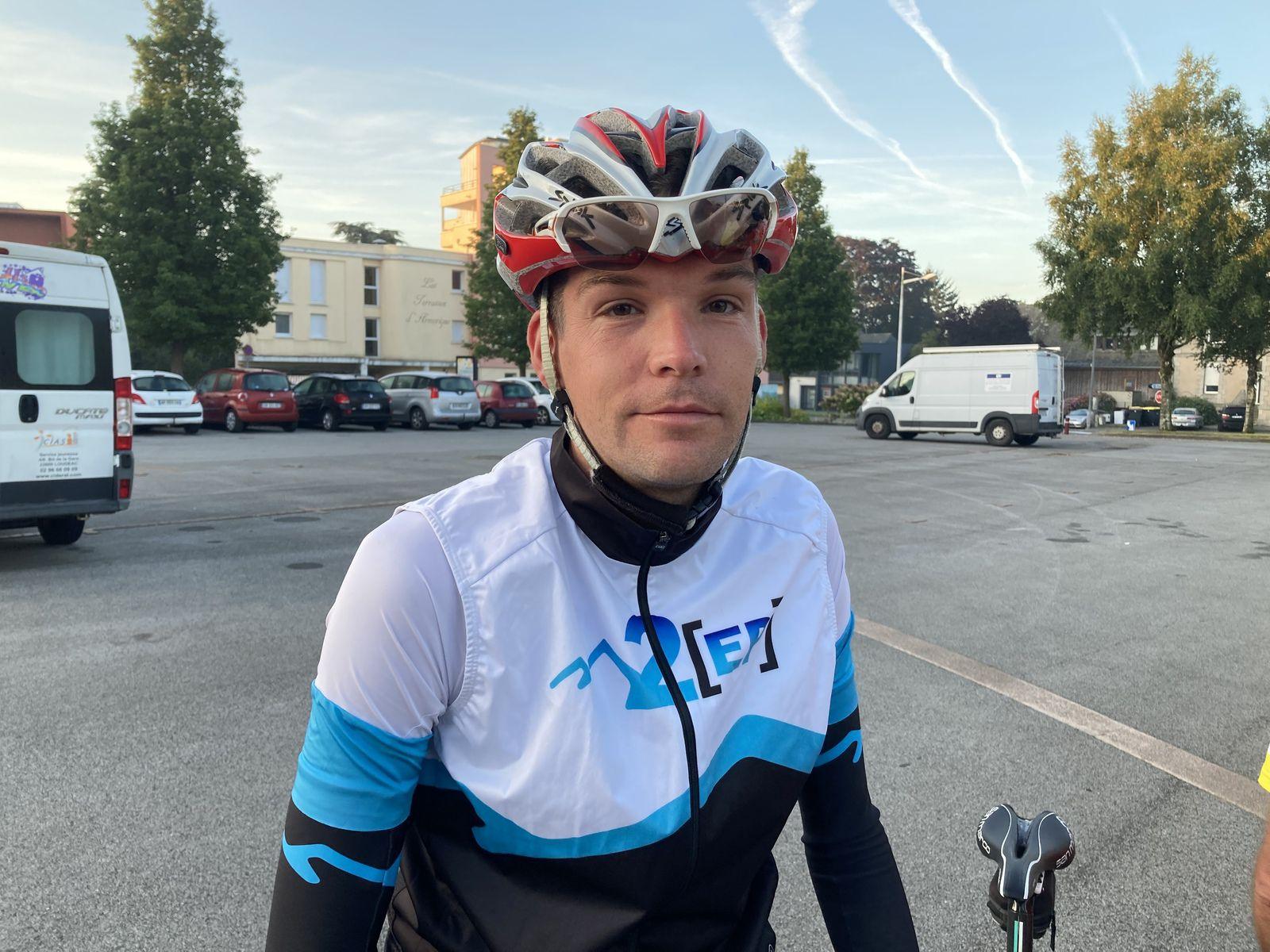 Ronan Visdeloup, Dimanche dernier (Ronan est le fils de Francis, ancien président de l'Amicale Cyclo).
