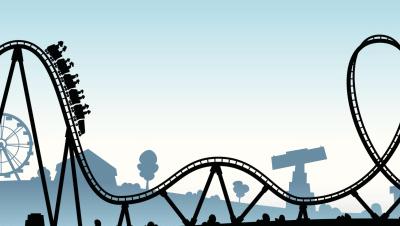Montagnes russes, roller coaster, etc