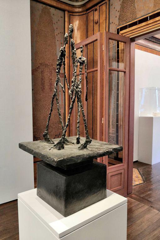 Trois hommes qui marchent, 1948, Bronze, Fondation Giacometti, Paris