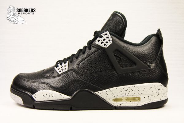"Nike Air Jordan IV Retro LS Tech Grey ""OREO"""