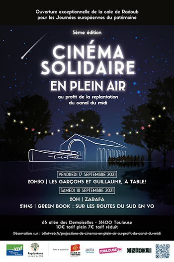 affiche cinema solidaire vnf toulouse