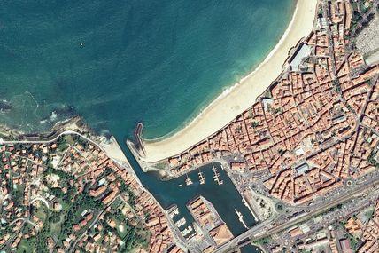 Le quiz de juillet 2014 : une image satellite mystère pour la plage