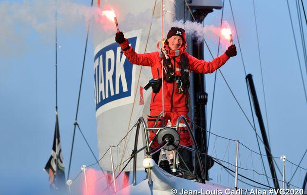 Ari Huusela (Stark) 25ème du Vendée Globe !
