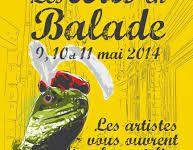 ARTS EN BALADE du 09 au 11 mai