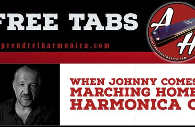 When Johnny Comes Marching Home - Trad - Harmonica A