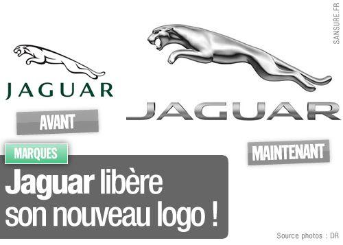 Jaguar libère son nouveau logo !