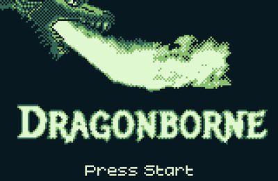 Dragonborne arrive sur Game Boy en Janvier 2021 !