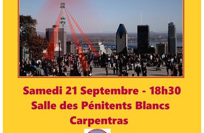 Les dangers de la 5G - 21 septembre 2019 - Carpentras