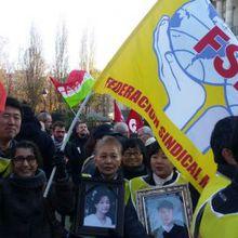 Solidarité avec les travailleurs de Samsung