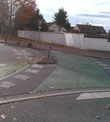 A bicylette aux ronds-points