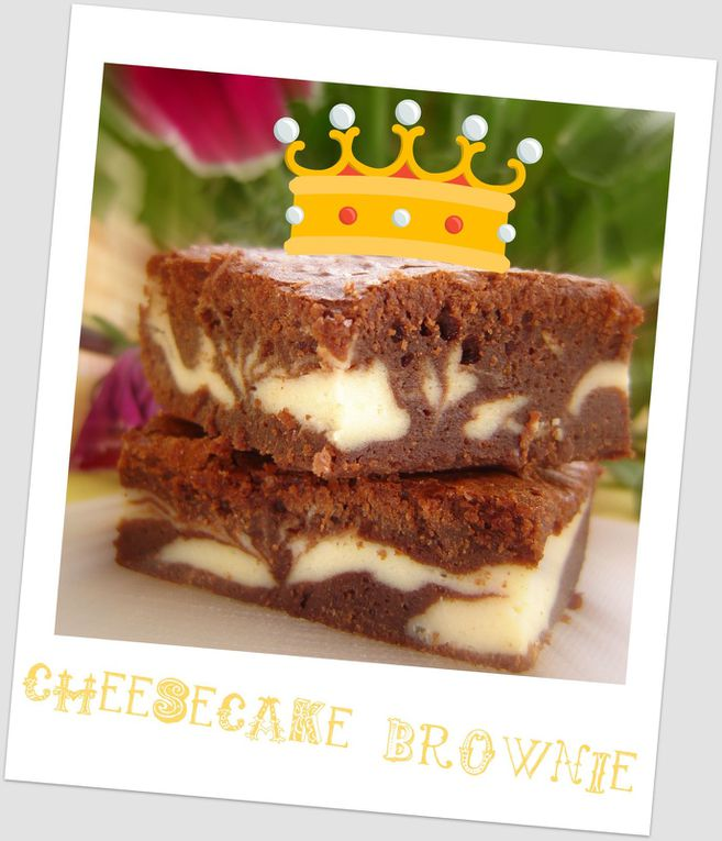 GOURMANDISE : Le cheesecake brownie, renversant !