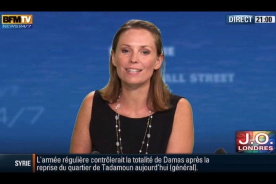 [2012 08 04] CELINE BRUEL - BFM TV - WEEK-END 360 @21H00