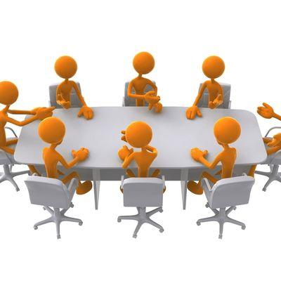 Organisation des tables de travail