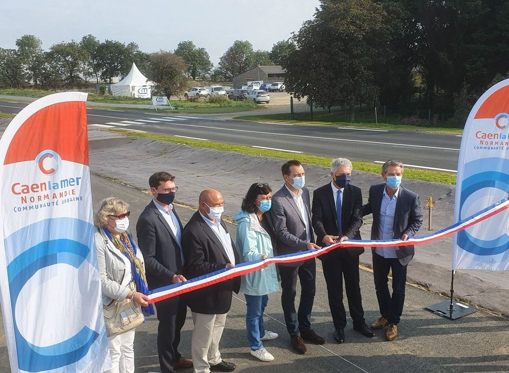Inauguration officielle du BUNe ce vendredi 11 septembre 2020 (© Caen la mer).