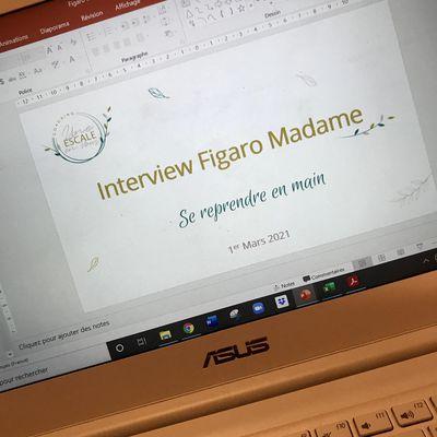 Lorsque Figaro Madame te contacte !