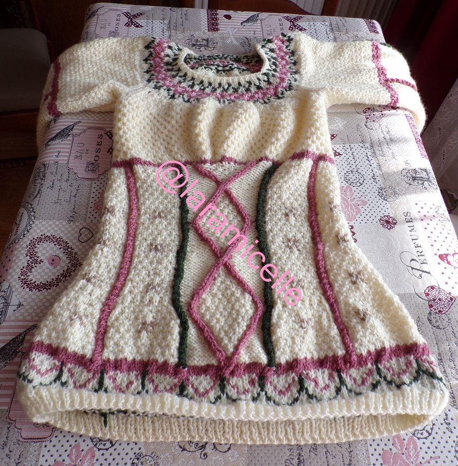 tuto gratuit pull femme  : pull corset