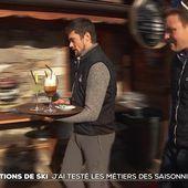 J'ai testé les métiers de saisonnier en station de ski - Le journal de 20h | TF1