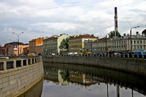De retour de Saint Petersbourg